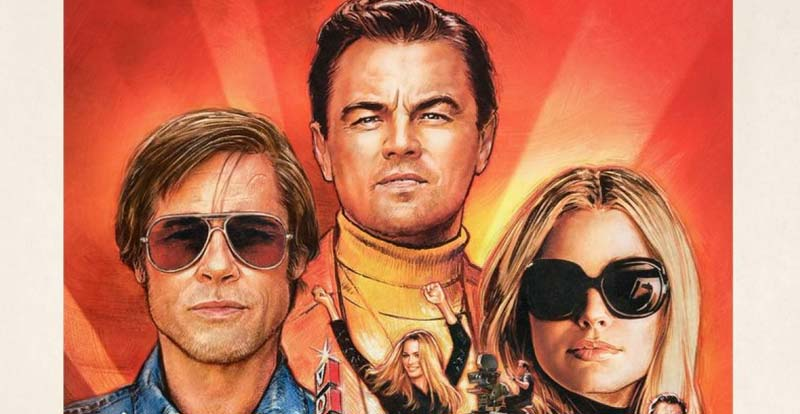 The art of Once Upon a Time in Hollywood