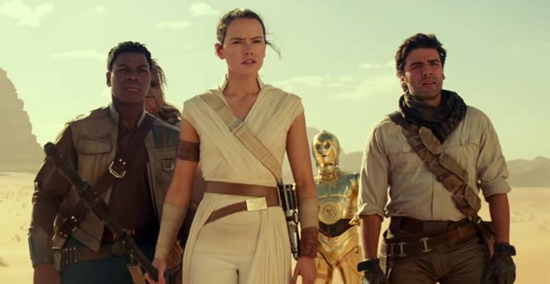 "A ""special look"" at Star Wars: The Rise of Skywalker"