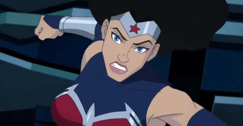 Wonder Woman gets animated in Bloodlines
