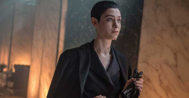 Interview with Asia Kate Dillon – John Wick: Chapter 3