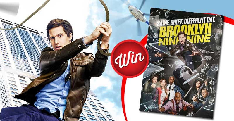 Win a Brooklyn Nine-Nine poster signed by the cast