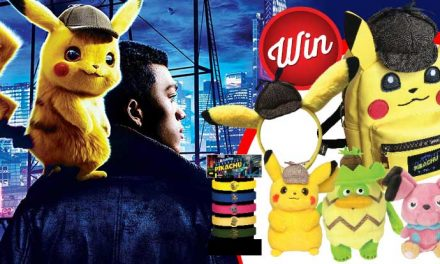 Win a Pokemon Detective Pikachu bundle