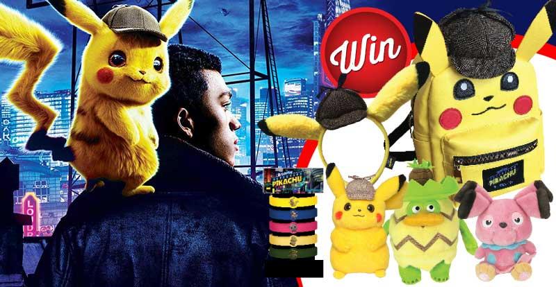 Win a Pokemon Detective Pikachu bundle