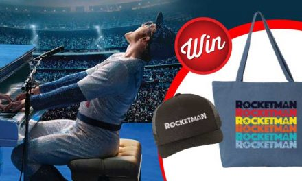 Three Rocketman prize-packs up for grabs