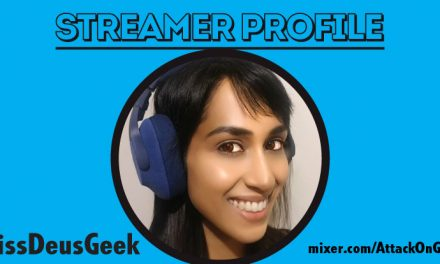 Streamer profile – MissDeusGeek