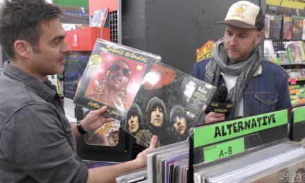 Vinyl shopping with Boy & Bear