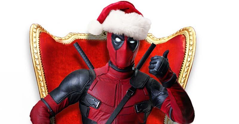 A Ricky Bobby Deadpool Christmas Carol?!