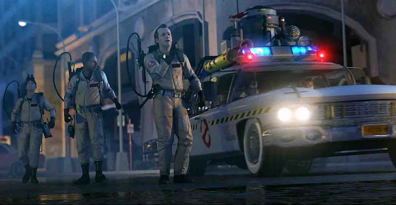 Remember the slime? Ghostbusters: The Video Game memories