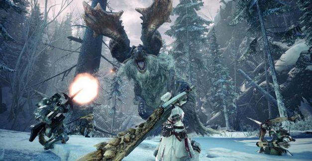 Winter is here in Monster Hunter: World – Iceborne