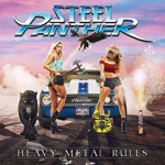 Steel Panther Heavy Metal Rules album cover