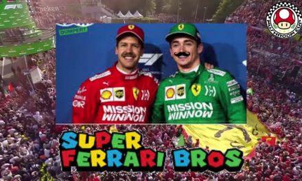 Mama mia, it's Super Ferrari Bros!