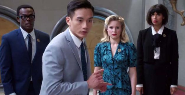 Holy shirt-balls, It's the end of The Good Place!