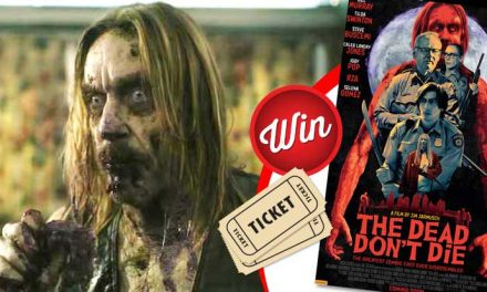 Win movie tickets to see The Dead Don't Die