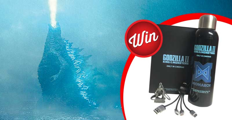 Win a monster Godzilla II: King of the Monsters prize