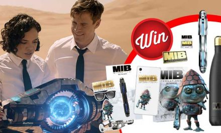 Win one of three Men In Black: International prize-packs