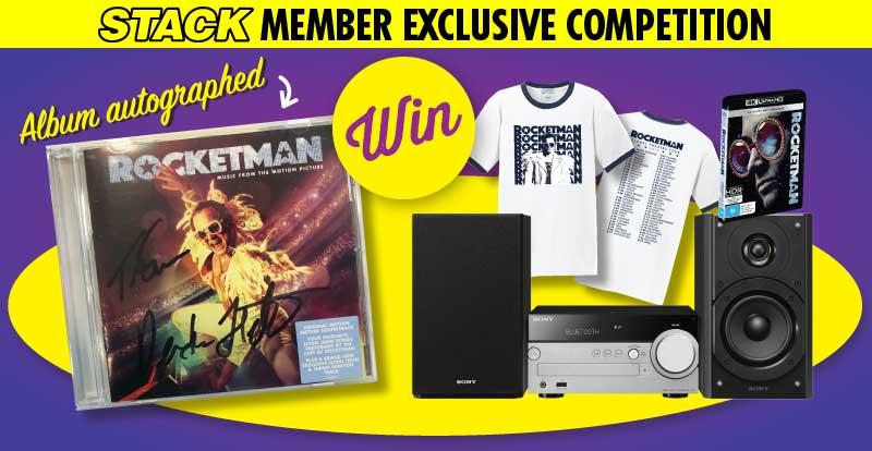 Win a signed Rocketman bundle