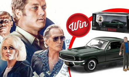 Win your own mini Steve McQueen & replica 1968 Ford Mustang