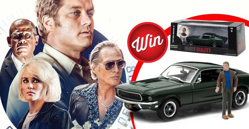 Win your own mini Steve McQueen & replica 1968 Ford Mustang