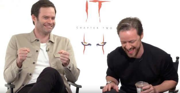 It Chapter Two – interview with James McAvoy & Bill Hader