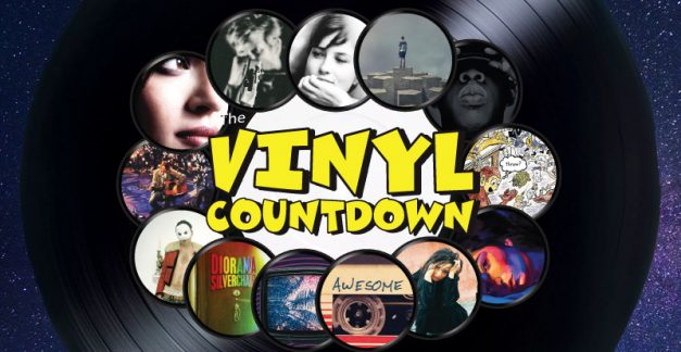 The Vinyl Countdown's tip-top titles