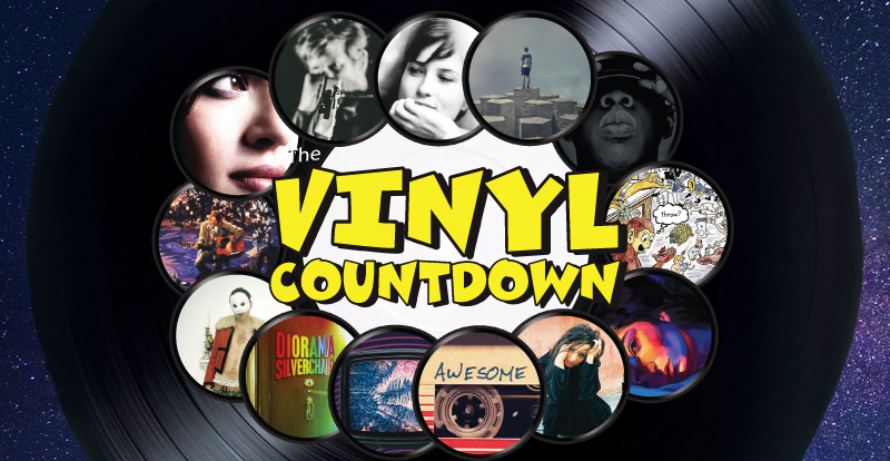 The Vinyl Countdown's tip-top titles