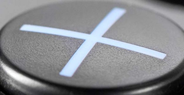 PlayStation get cross over 'X' button