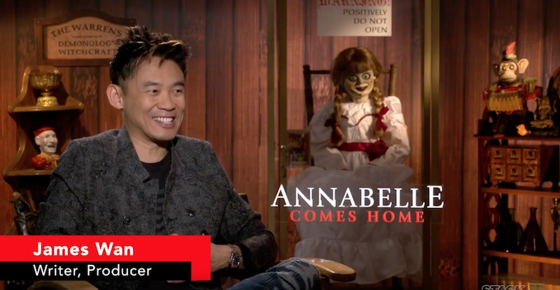 Annabelle Comes Home – James Wan and cast interview