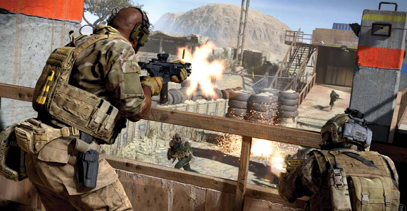 Modern Times – Call of Duty: Modern Warfare interview