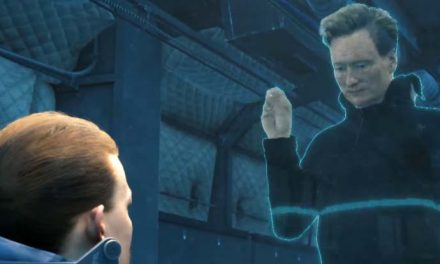 Conan O'Brien visits Kojima's Death Stranding studios