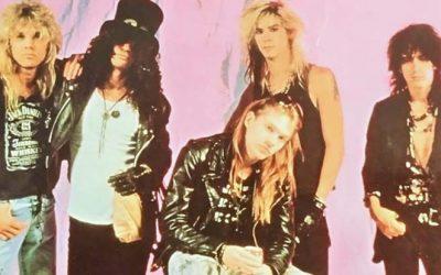 Guns N' Roses hit '80s billion
