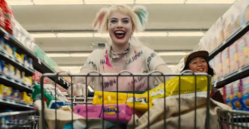 Shop! Horror! A new look at Birds of Prey trundles in