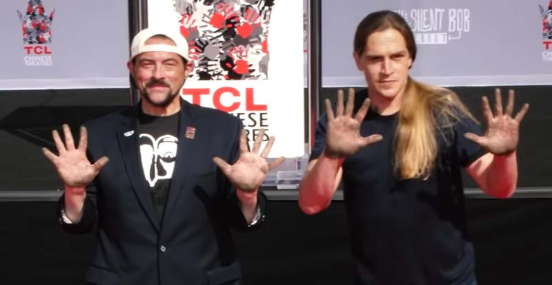 Jay & Silent Bob immortalised in cement