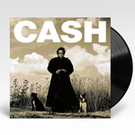 Johnny Cash American Recordings vinyl album cover