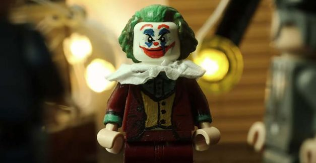 Put on a happy face with Joker in LEGO