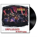Nirvana MTV Unplugged in New York vinyl album cover
