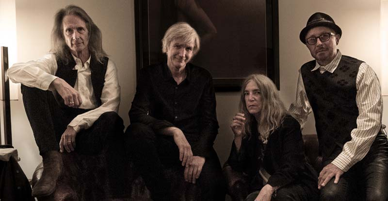 Patti Smith and Her Band touring Oz in 2020