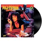 Pulp Fiction soundtrack vinyl album cover