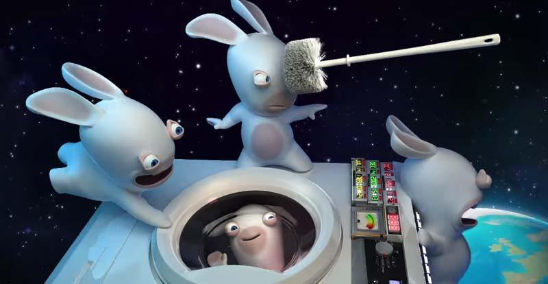 Crack the code with the Rabbids