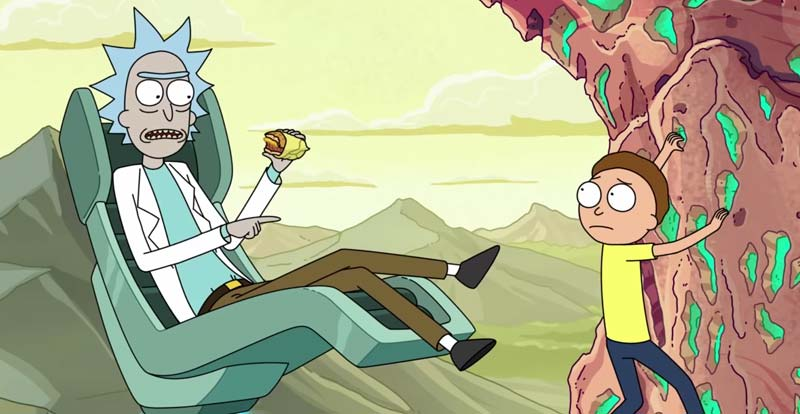 Sit back and chill with new Rick and Morty