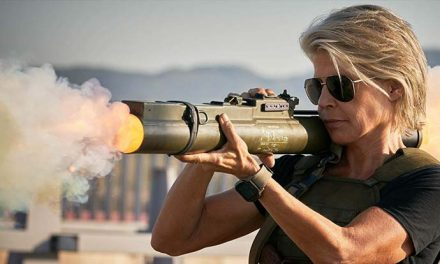 Sarah Connor arrives in Terminator: Dark Fate