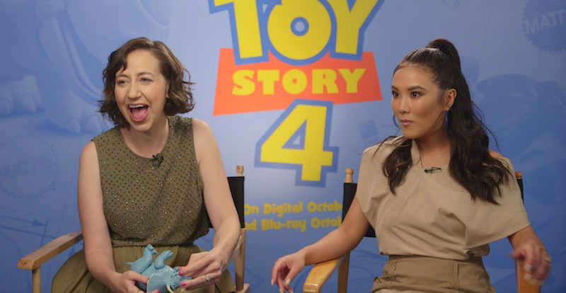 Toy Story 4 – cast and crew interview