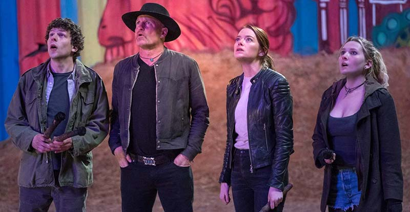 Zombieland: Double Tap goes red – and blue