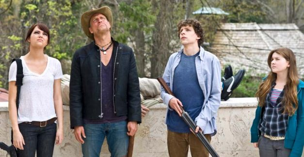 You've got red, white and blue on you! Zombieland Honest Trailer