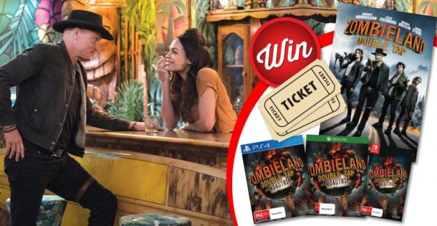 Six Zombieland: Double Tap – Road Trip game and cinema passes