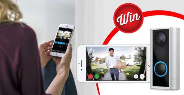 Pimp your doorbell when you win one of five Ring Door View Cams
