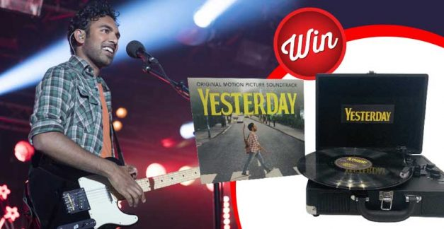 Win a Yesterday turntable and the movie soundtrack