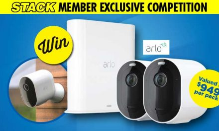 Win one of three Arlo Pro 3 security camera systems