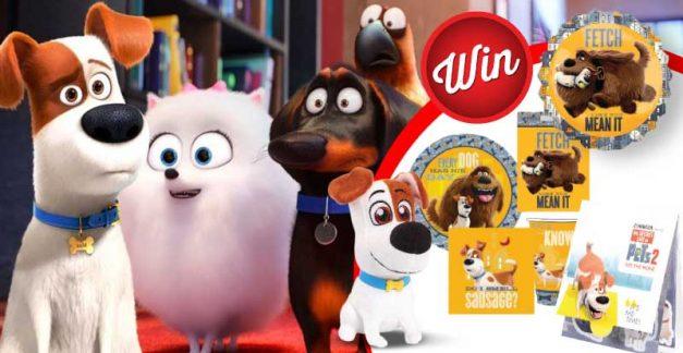 Score a Secret Life of Pets fun pack!