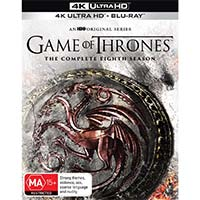 4K December 2019 - Game of Thrones: The Complete Eighth Season
