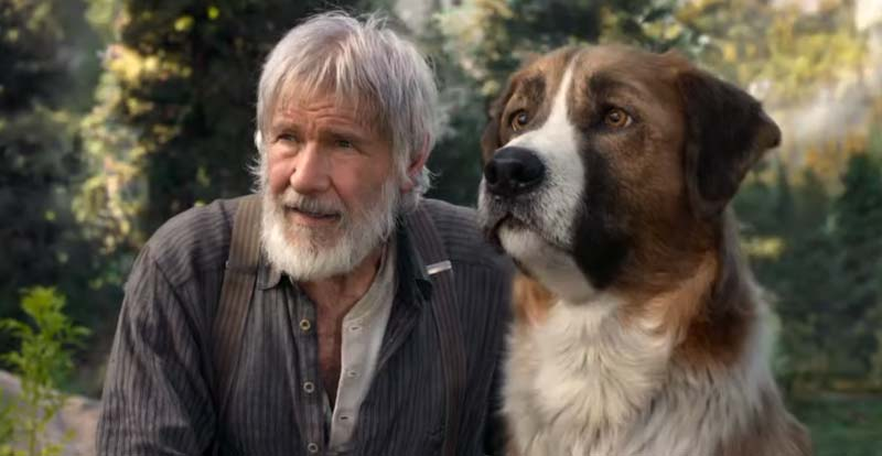 Harrison Ford answers The Call of the Wild